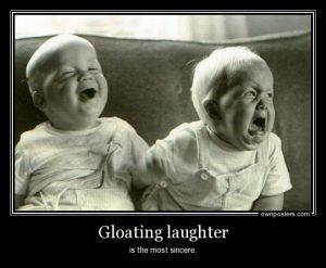 gloating-baby
